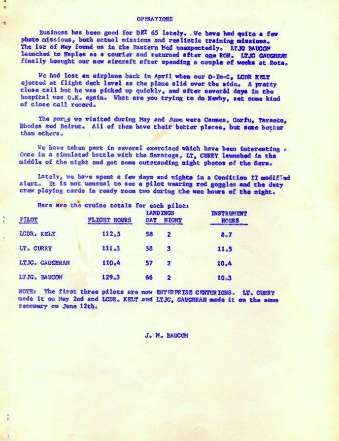 July 1963 Newsletter
